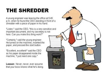 The Shredder